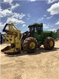 John Deere 843 K, 2015, Feller bunchers