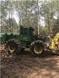John Deere 843 K, 2013, Feller Bunchers