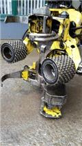 John Deere H 742, 2010, Cabezales cortadores