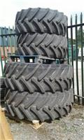 Full set of Tyres, 2018, Tyres, wheels and rims