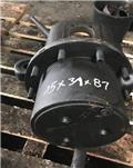 Fendt 722, Šasija i vešenje