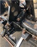 JCB 155, Podvozky a zavěšení kol
