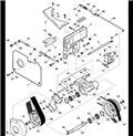 John Deere 332, Podvozky a zavěšení kol
