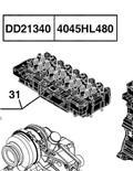 John Deere 6430 Premium, Motores