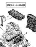 John Deere 712، محركات