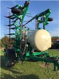Agrodan 7.5 mtr. 2000 kg tank-store fjedre tænder-brede hj, Прочая техника для удобрений