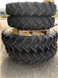 11,2R36 - 13,6R48, Tyres, wheels and rims