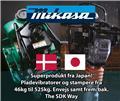 Mikasa MVH-208GH, 2018, Plate Compactors