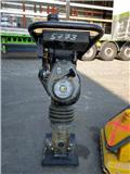 Wacker BS 60-2, 2009, Rodillos de doble tambor