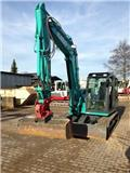 Kobelco SK 85 mit Powertilt, 2015, Mini excavators < 7t (Mini diggers)