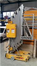Grove P40DC, Articulated boom lifts
