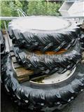 Steyr 9.5R28 U. 270/95R44, Gume, kotači i naplatci