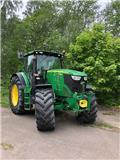 John Deere 6210 R, 2014, Traktorer