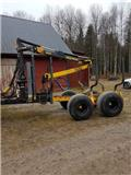 Moheda 120/M400, 2004, Forest trailers