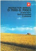 Dronningborg D7000, 1989, Combine harvesters