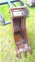 New Holland ophæng, 30 cm. graveskovl m/ tænder, Buckets