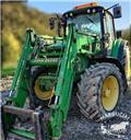 John Deere 6420 S, 110 - 125 AG, 2002, Tractors