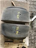 Nye Akselvægte til Terex TL160, Wheel loaders