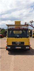 Palfinger WT 170 H / MAN L2000 8.163 LC, 1999, Avtokošare