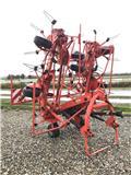 Kuhn GF 8702 8 rotor vender, 2011, Rastrilladoras y rastrilladoras giratorias