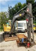 Caterpillar EC 55 / GRL+TL / MS 03 / GERMAN, 2007, Mini Excavators <7t (Mini Diggers)