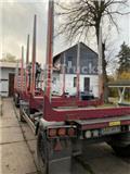 Krone 18 ton / Kurzholz / 6m / SAF Achse / NUR 3280kg, 2014, Tomruk römorklari