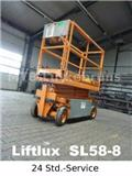 Liftlux SL58-8, 1996, Scissor Lifts