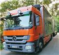Mercedes-Benz Actros, 2008, Animal transport trucks