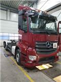 Mercedes-Benz Antos 2542 6x2 , Meiller RK 20.70 Lift/Lenk, 2014, Camion cu carlig de ridicare