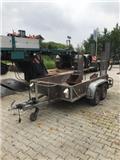 MTH Ehlers Anhänger Minibaggeranhänger 2.000kg, 1999, Avto prikolice