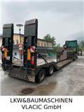 Schwarzmüller Gsodam / Tiefbet (Für Holzarbetsmaschinen), 2010, Low loader-semi-trailers