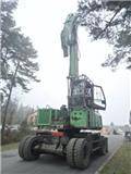 Sennebogen 735, 2008, Excavadoras de ruedas