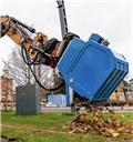 Dynaset Imevä kauha jätteenkäsittelyyn, Muut kiinnitettävät lisäosat ja komponentit