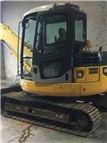 Komatsu PC78MR-6, 2006, Mini excavators  7t - 12t