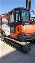Kubota U 55-4, 2017, Mini Excavators <7t (Mini Diggers)
