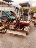Takeuchi TB125, 2001, Mini excavators < 7t (Mini diggers)