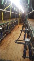 Manus melkstal 2x10, 2005, Milking equipment