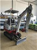 Takeuchi TB216, 2017, Mini excavators < 7t