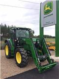 John Deere 6125 R, 2014, Traktory