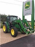 John Deere 6125 R, 2014, Traktorer