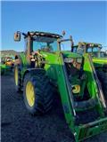 John Deere 6210 R, 2014, Tractors
