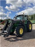 John Deere 6210 R, 2013, Traktorer