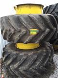 Michelin 620/70X30 DUBBELMONTAGE, 2013, Däck, hjul och fälgar