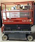 SkyJack SJ III 3219, 2012, Nacelle ciseaux