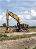 Caterpillar 390 D L, 2012, Crawler excavators