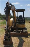 キャタピラー 304 C CR、2008、ミニ油圧ショベル(ユンボ・パワーショベル・バックホー)< 7t  (ミニディガー)