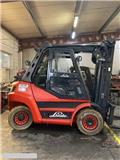 Linde [2011] LINDE H60D diesel 6ton side shift, 2011, Diesel Forklifts