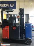 Linde [2013] REACH TRUCK R25SN 2,5t narrow 2016 battery, 2013, Skyvemasttruck