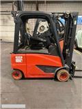 Linde [2014] LINDE E20 2t duplex, positioner, 2014, Electric Forklifts