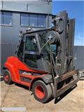 Linde [2014] LINDE H80D-900, DIESEL 8ton/900 triplex 5,4, 2014, Camiones diesel
